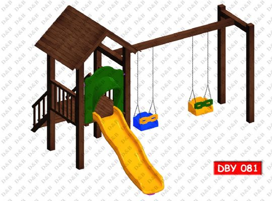 DBY 081 Wooden Play Ground