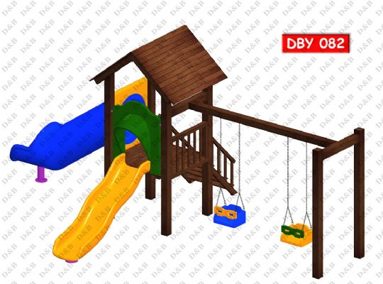 DBY 082 Wooden Play Ground