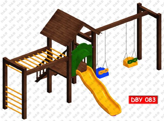 DBY 083 Wooden Play Ground