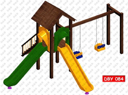 DBY 084 Wooden Play Ground