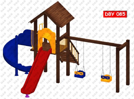 DBY 085 Wooden Play Ground