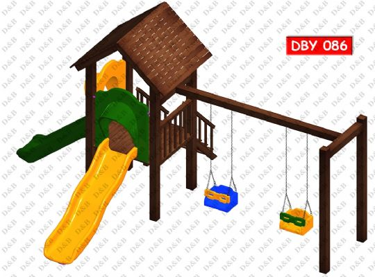 DBY 086 Wooden Play Ground