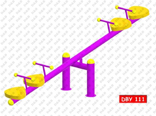 DBY 111 Twin Seesaw