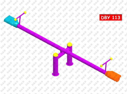 DBY 113 Single Seesaw