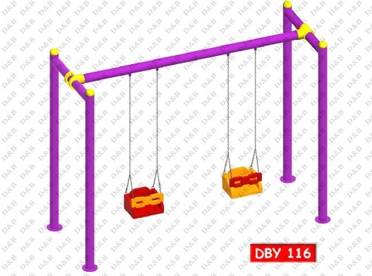 DBY 116 Double Belted Swing