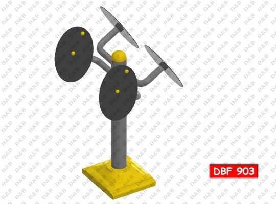 DBF 903 Shoulder-Arm And Wrist Reinforcement Tool