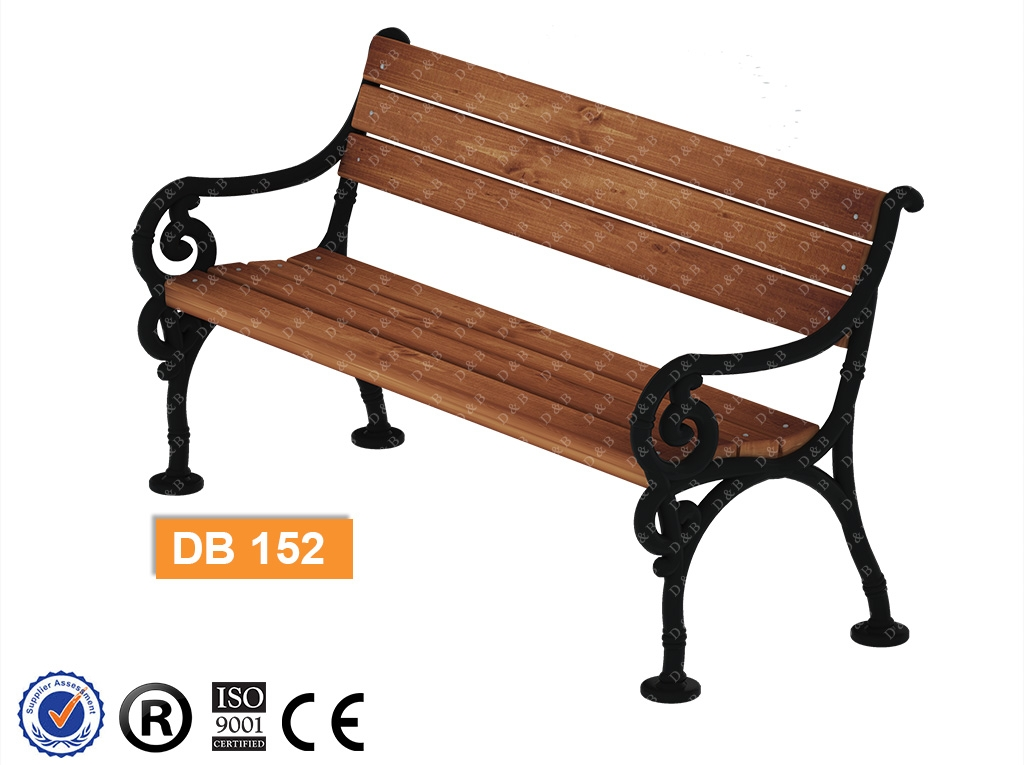 Db 152 Sitting Benches Outdoor Fitness Equipment Composite Bench