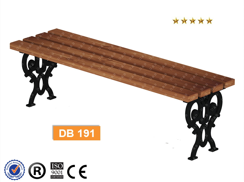 Db 191 Sitting Benches Composite Bench Outdoor Equipment