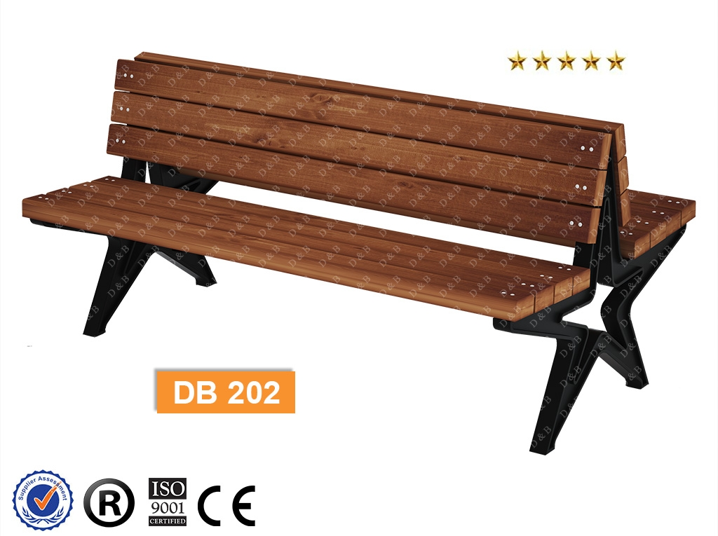Db 202 Sitting Benches Composite Bench Outdoor Equipment