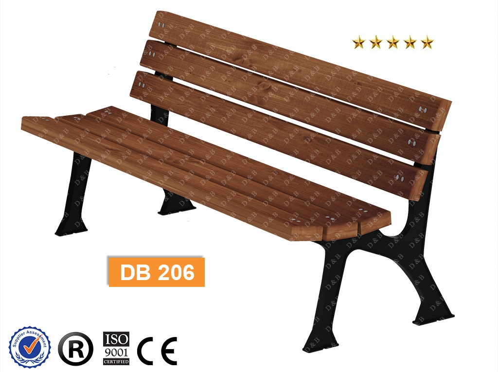 Db 206 Sitting Benches Outdoor Lighting Composite Bench