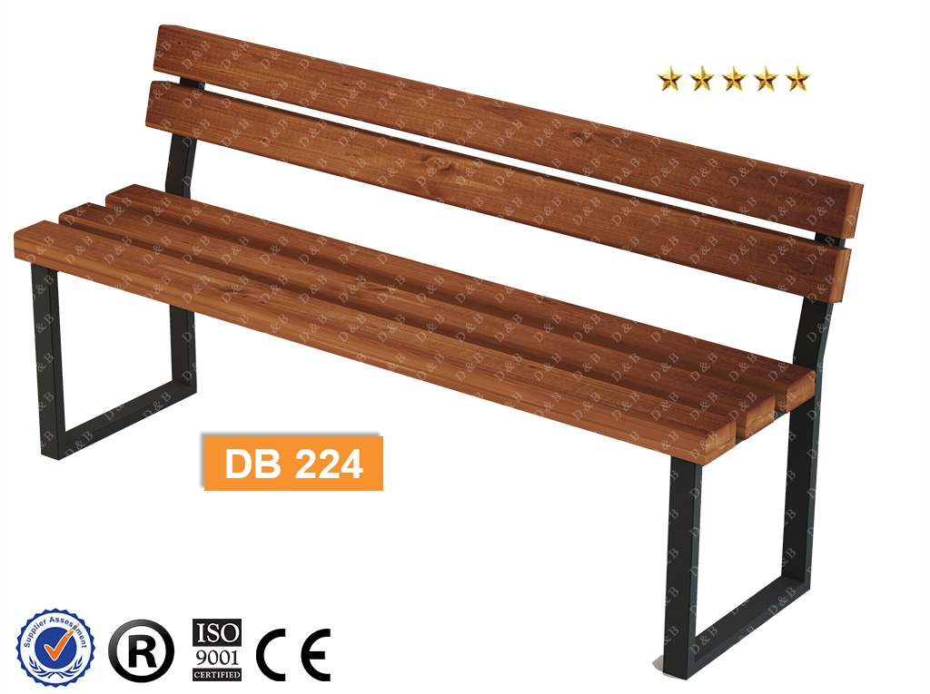Db 224 Sitting Benches Outdoor Fitness Equipments Composite Bench