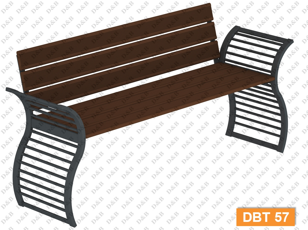 Composite-Aluminum-Metal Benches